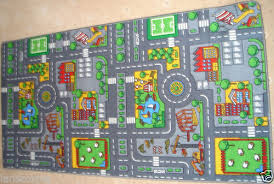 Childrens Play Rug by Extra Large Childrens Road Town Car Play Mat Rug Approx