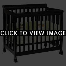 Annabelle Mini Crib White by Davinci Kalani Convertible Mini Wood Crib Ebony Finish 17
