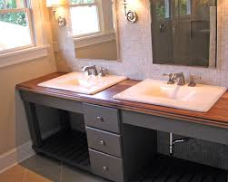 Powder Room Cabinets Vanities Bathroom 42 Inch Vanity Double Sink Vanity Lowes Bath Vanities