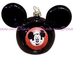 dizdude disney mickey mouse ears ornament