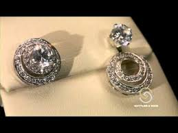 diamond earring jackets convertible earring jackets at security jewelers