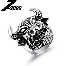 aliexpress buy 2017 new arrival mens ring fashion 7seas 2017 new arrival bull men rings 316l stainless steel taurus