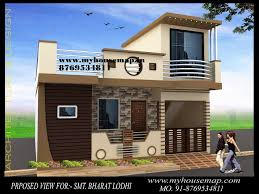 Sample House by House Map Design Sample House Map Elevation Exterior House Design