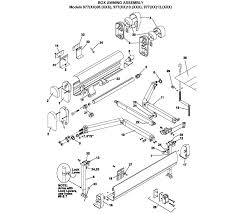 Awning Parts Laurelhurst Distributors Parts Breakdown Awnings