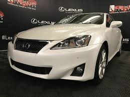 white lexus 2011 used 2011 lexus is 350 4 door car in edmonton ab l13859b
