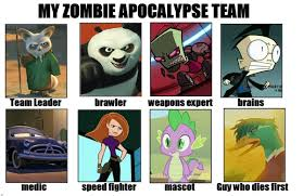 Zombie Team Meme - zombie apocalypse team assemble by faithfirefly on deviantart