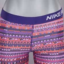light purple leggings women s healthy nike pro warm 8 bit tights light crimson black court