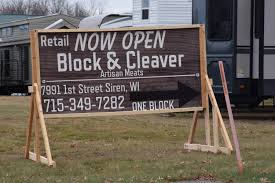 block cleaver artisan meats launches store in siren follow