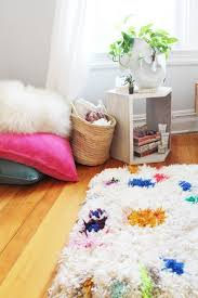 How To Clean A Fluffy Rug Shag Rug Tutorial Lindsey Crafter