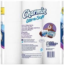 Charmin Bathroom Charmin Ultra Soft 2 Ply Big Roll Bathroom Tissue Hy Vee Aisles