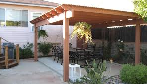 Outside Patio Covers by Roof M3361s 3034 Patio With Roof Winsome Patio Roof Tie In