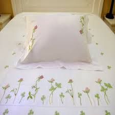 Embroidered Bedding Sets Hand Embroidered Bedding Set