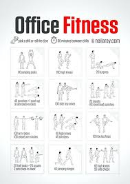 Exercise At The Office Desk Office Desk Exercises Ff14 Site