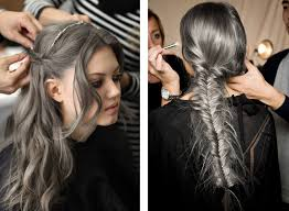 gray hair color trend 2015 gray hair trend ombre google search hairstyles pinterest