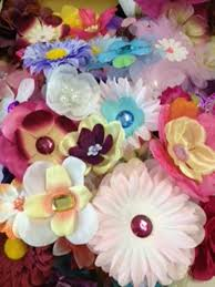 flower bands 100 assorted flower heads for crafts bands