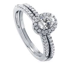 real diamond engagement rings sterling silver oval cubic zirconia cz halo promise engagement