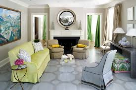 Bright Green Sofa Living Room Light Blue Living Room Contemporary With Living Room