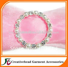 chair sash buckles free shipping rhinestone pearl buckles for chair sash wedding