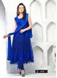 color designer vandv blue color designer blue anarkali suits just rs 999
