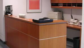 Laminate Reception Desk Custom Hotel Reception Desk