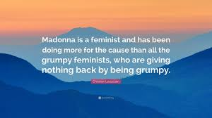 christian louboutin quote u201cmadonna is a feminist and has been