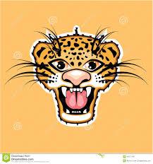jaguar clipart leopard cartoon jaguar stock vector image 49277149