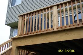 wood deck railings plus railing pictures beautiful savwi com