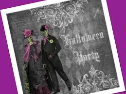 vintage halloween invitations make it a double