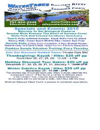 2015 thanksgiving dates events the creekside inn