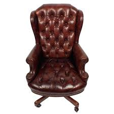 tufted leather desk chair leather tufted office chair leather tufted chesterfield style office