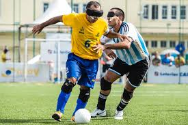 Paralympics Blind Football Football 5 And The Magic Players How Do Blind People Play