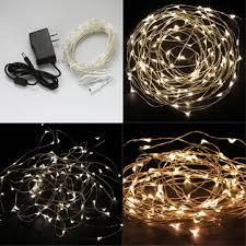 12v Led Light String by Warm White White 10m 100led Copper Wire Led String Lights Lamp 12v