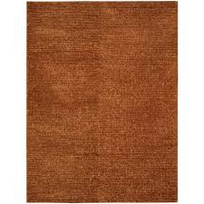 Nourison Area Rugs Nourison Fantasia Rust 8 Ft X 11 Ft Area Rug 381828 The Home Depot