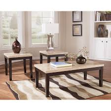 3 piece end table set shop signature design by ashley wilder 3 piece accent table set at