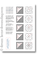 Christmas Window Decorations Snowflakes by Easy Paper Snowflake Instructions