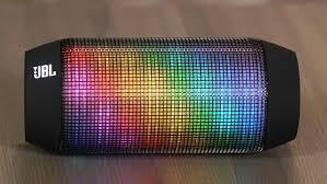 blackweb lighted bluetooth speaker review jbl pulse one flashy portable bluetooth speaker video cnet