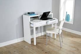 White Desk White Desk Extending Console Table Home Office Computer Storage