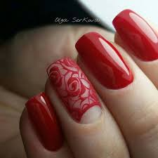 best 25 red nail art ideas on pinterest red nails nails fall
