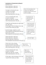 Light In Your Eyes Lyrics Rihanna Diamond Lyrics Annotations