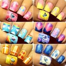 my little pony nail art talk nerdy to me pinterest pony