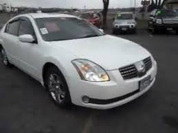 Nissan Maxima 2005 Interior 2005 Nissan Maxima Sl 3 5 V6 Skyview Roof White And Clean Youtube