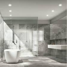 wonderful grey full tile in contemporary bathroom added