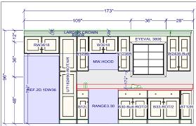 Kitchen Cabinet Standard Height Standard Height Of Kitchen Cabinets Designing A Kitchen With