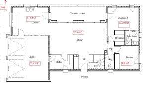 plan maison etage 4 chambres 1 bureau maison etage 130m2
