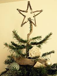 make a christmas tree out of branches christmas lights decoration