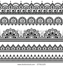 vector images illustrations and cliparts mehndi indian henna