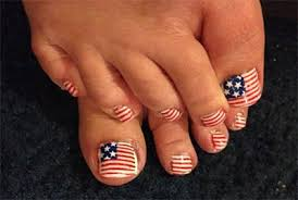 elegant fourth of july toe nail art designs ideas u0026 trends 2014