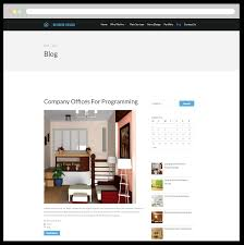 free responsive interior design wordpress theme