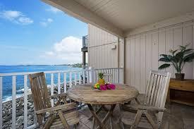 table and chair rentals big island sea village 4207 kona condo rental oceanfront