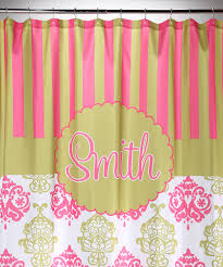 shower curtains damask home decoration ideas